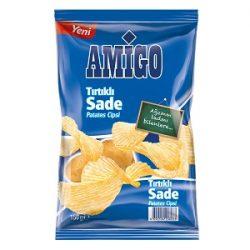 Amigo Tırtıklı Patates Cipsi İçindekiler, Kalori, Besin Öğeleri