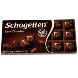 Schogetten Bitter Çikolata İçindekiler, Kalori, Besin Öğeleri