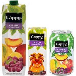 Cappy Karışık Meyve Nektarı İçindekiler, Kalori, Besin Öğeleri