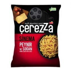 Çerezza Sinema Peynir ve Soğan Aromalı Çerez İçindekiler, Kalori, Besin Öğeleri