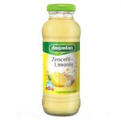 Doğadan Zencefil Limonlu Soğuk Çay İçindekiler, Kalori, Besin Öğeleri