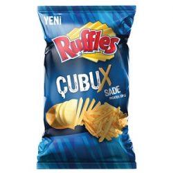 Ruffles Çubux Sade İçindekiler, Kaç Kalori, Besin Öğeleri