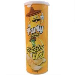 Party Paprika Patates Cipsi İçindekiler, Kalori, Besin Öğeleri