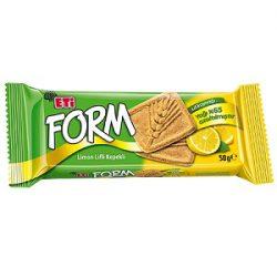 Eti Form Limon Lifli Kepekli Bisküvi İçindekiler, Kalori, Besin Öğeleri