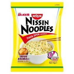 Nissin Noodles Tavuk Aromalı İçindekiler, Kalori, Besin Öğeleri