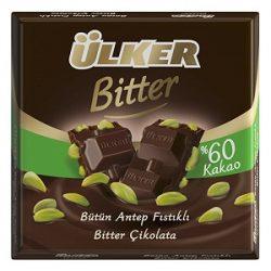 Ülker Antep Fıstıklı Bitter Çikolata İçindekiler ve Kalori Bilgisi