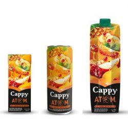 Cappy Atom İçindekiler, Kalori, Besin Öğeleri