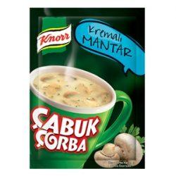 Knorr Çabuk Çorba Kremalı Mantar İçindekiler, Kalori, Besin Öğeleri