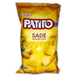 Patito Sade Patates Cipsi İçindekiler, Kalori, Besin Öğeleri