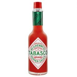 Tabasco Acı Biber Sosu İçindekiler, Kalori, Besin Öğeleri