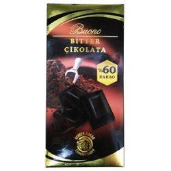 Buono Bitter Çikolata İçindekiler, Kalori, Besin Öğeleri