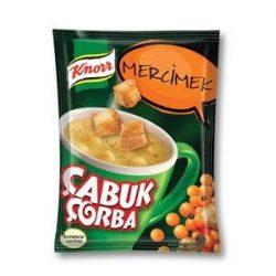 Knorr Çabuk Çorba Mercimek İçindekiler, Kalori, Besin Öğeleri