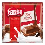Nestle Classic Bol Sütlü Çikolata İçindekiler, Kalori, Besin Öğeleri