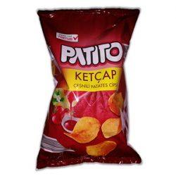 Patito Ketçap Çeşnili Patates Cipsi İçindekiler, Kalori, Besin Öğeleri