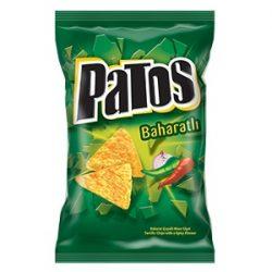 Patos Baharatlı Cips İçindekiler, Kalori, Besin Öğeleri