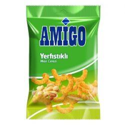 Amigo Yer Fıstıklı Mısır Çerezi İçindekiler, Kalori, Besin Öğeleri