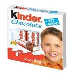 Kinder Chocolate İçindekiler, Kalori, Besin Öğeleri