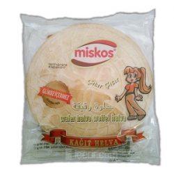 Miskos Kağıt Helva İçindekiler, Kalori, Besin Öğeleri