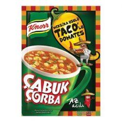 Knorr Çabuk Çorba Meksika Usulü Taco'lu Domates