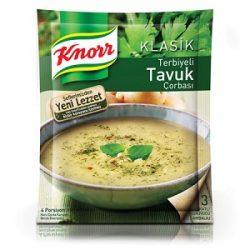Knorr Terbiyeli Tavuk Çorbası İçindekiler, Kalori, Besin Öğeleri