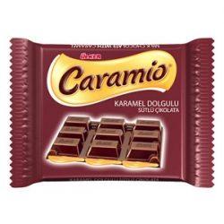 Ülker Caramio İçindekiler, Kalori, Besin Öğeleri