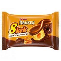 Ülker Dankek 8 Kek Çikolatalı Karamelli Kek