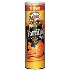 Pringles Tortilla Nacho Cheese İçindekiler, Kalori, Besin Öğeleri