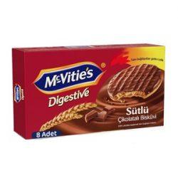 Mc Vitie's Digestive Sütlü Çikolatalı Bisküvi