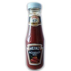 Heinz Acı Biber Sosu İçindekiler, Kalori, Besin Öğeleri