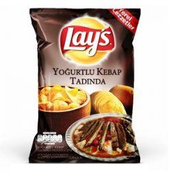 Lay's Yoğurtlu Kebap Tadında Patates Cipsi