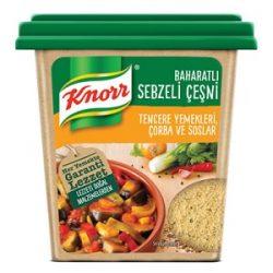 Knorr Baharatlı Sebzeli Çeşni İçindekiler, Kalori, Besin Öğeleri