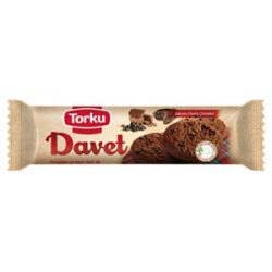 Torku Davet Kakaolu Damla Çikolatalı Bisküvi