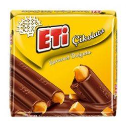 Eti Karamel Dolgulu Sütlü Çikolata