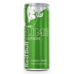 Red Bull The Lime Edition Misket Limonu Lezzeti