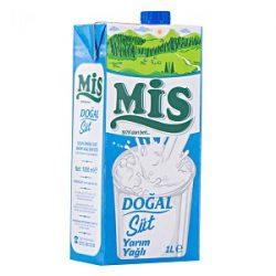 Mis Yarım Yağlı Süt