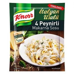 Knorr 4 Peynirli Makarna Sosu