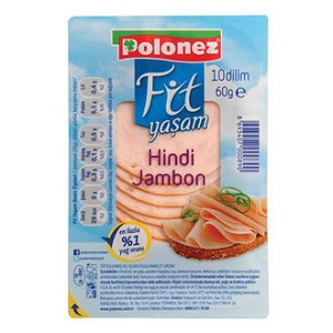 Polonez Fit Yaşam Hindi Jambon
