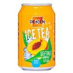 Deren Ice Tea Şeftali İçindekiler, Kalori, Besin Öğeleri