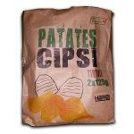 Harras Patates Cipsi Tırtıklı İçindekiler, Kalori, Besin Öğeleri