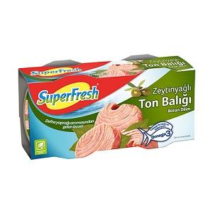 Superfresh Zeytinyağlı Ton Balığı