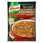 Knorr Köfteli ve Bulgurlu Analı Kızlı Çorbası