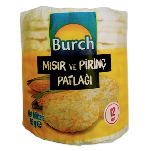 Burch Mısır ve Pirinç Patlağı