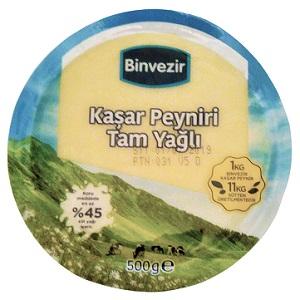 Binvezir Kaşar Peyniri