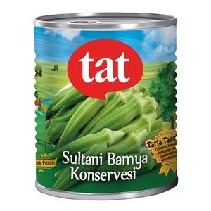 Tat Sultani Bamya Konservesi