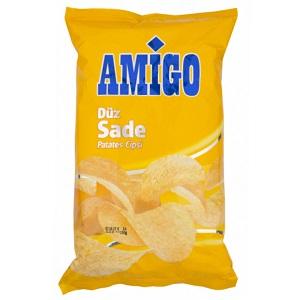 Amigo Düz Sade Patates Cipsi