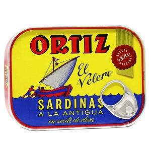 Ortiz Zeytinyağlı Sardalya