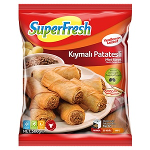 Superfresh Kıymalı Patatesli Mini Börek