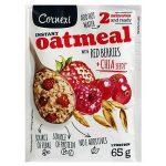 Cornexi Instant Oatmeal Chia Tohumlu ve Kırmızı Meyveli Yulaf Ezmesi
