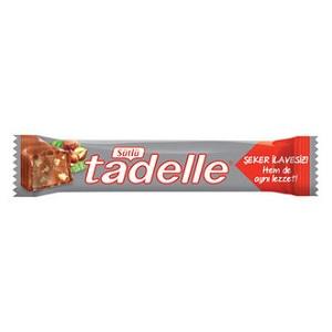 Tadelle Şekersiz Sütlü Çikolata